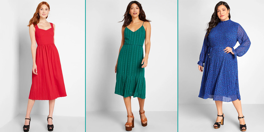 We All Need These Cute Spring Midi Dresses from ModCloth | AddedInfluence.com/Blog