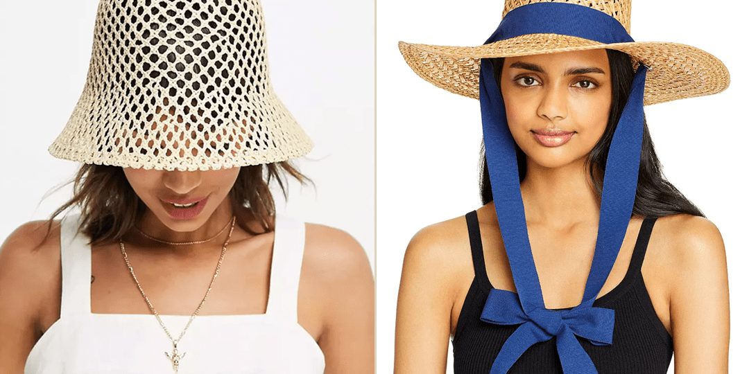 Keep the Sun Out of Your Eyes With These Cute Straw Hats   AddedInfluence.com/Blog
