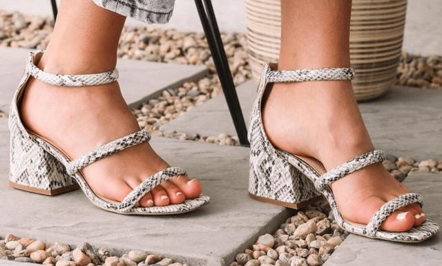 Summer Statement Sandals   AddedInfluence.com/Blog